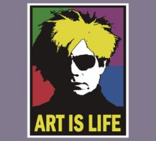 ANDY WARHOL-ART IS LIFE