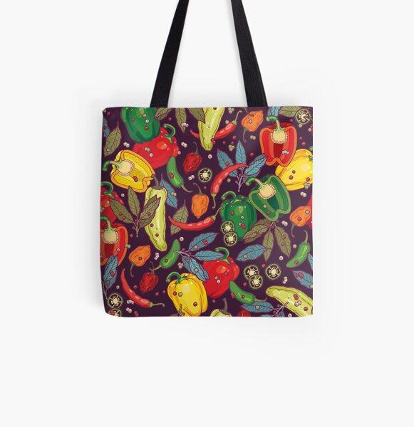 Hot & spicy! All Over Print Tote Bag
