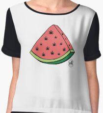 Weedmelon Chiffon Top