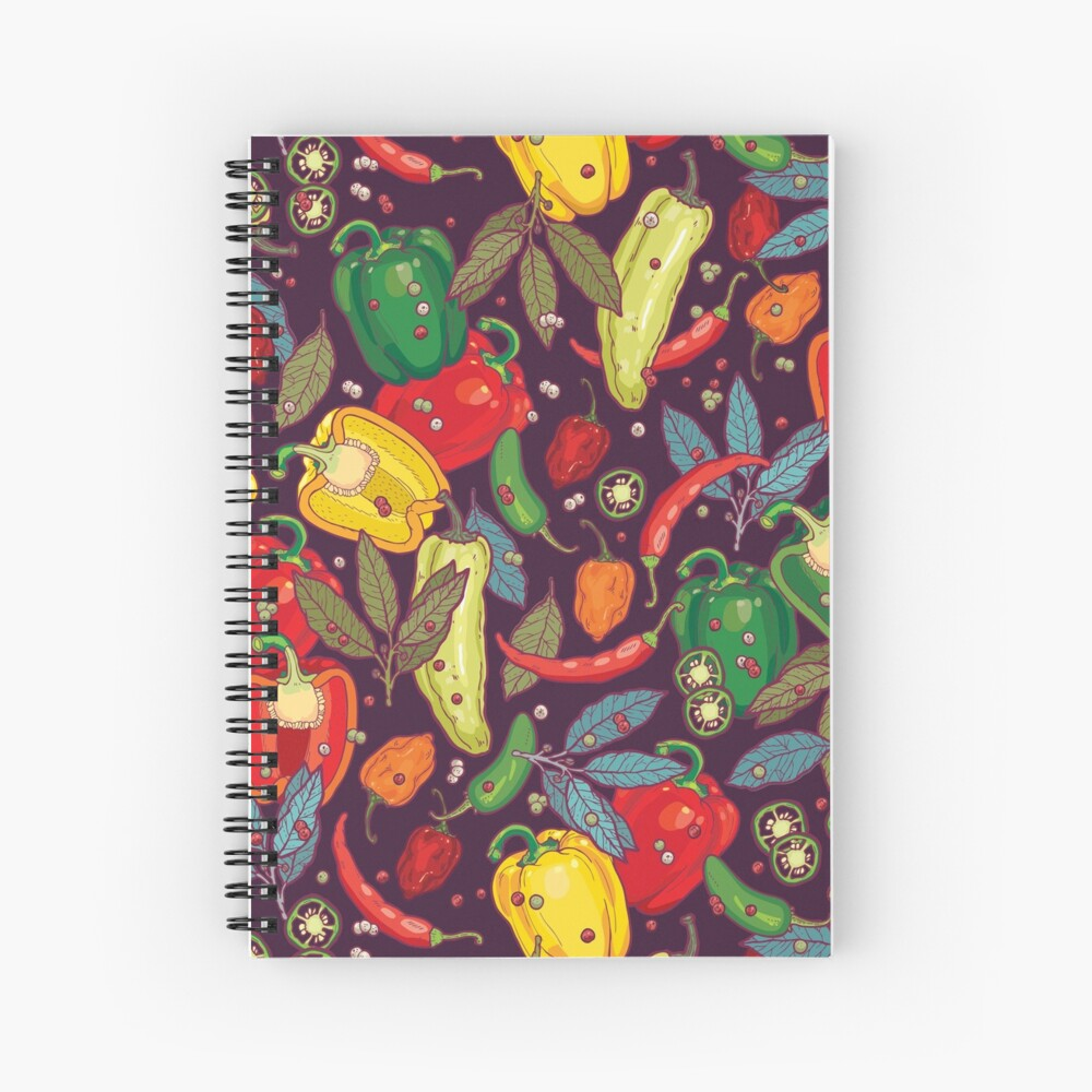Hot & spicy! Spiral Notebook
