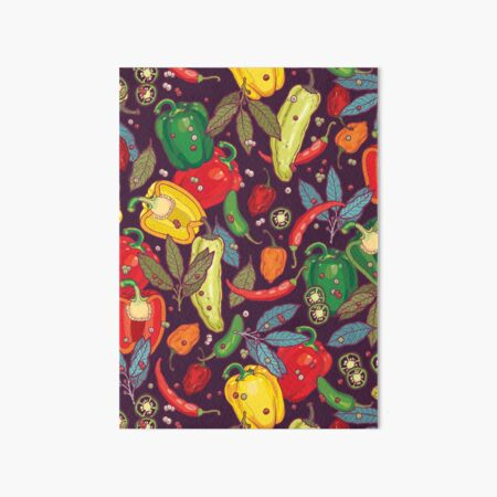 Hot & spicy! Art Board Print