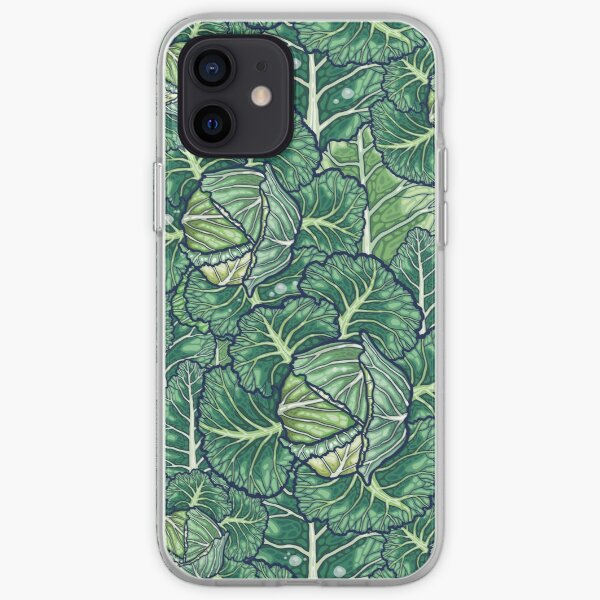 dreaming cabbages iPhone Soft Case