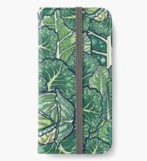 dreaming cabbages iPhone Wallet/Case/Skin