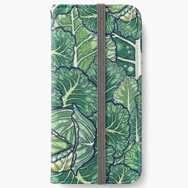 dreaming cabbages iPhone Wallet