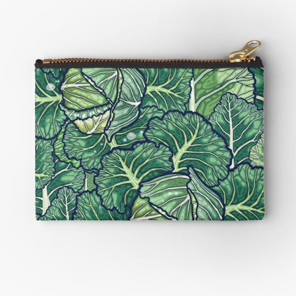 dreaming cabbages Zipper Pouch