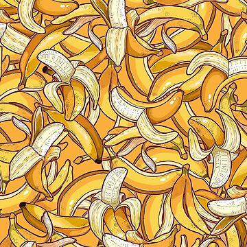 Yellow banana dream. by smalldrawing