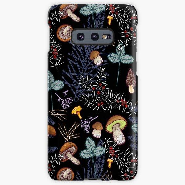 dark wild forest mushrooms Samsung Galaxy Snap Case