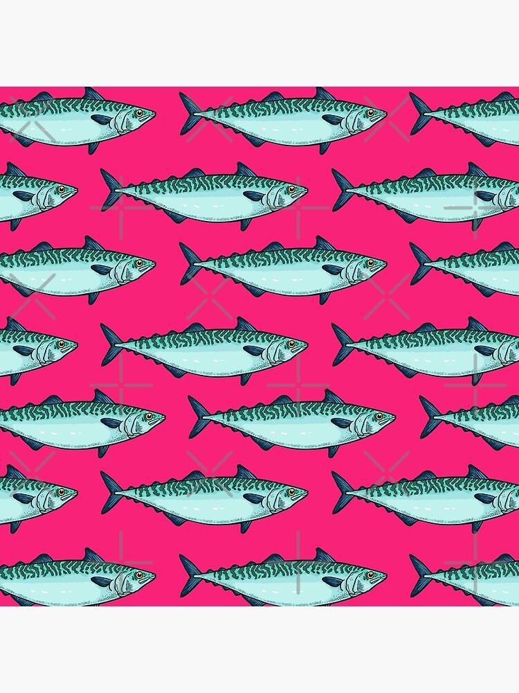 Tasty mackerel pattern by smalldrawing