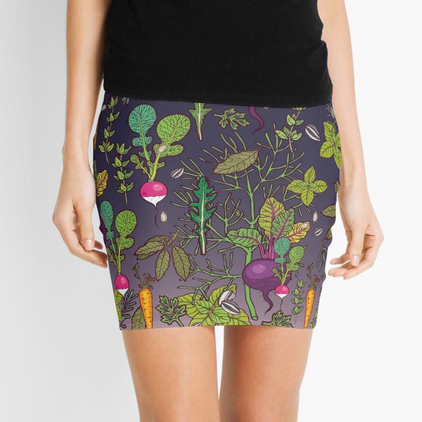 Gardener's dream Mini Skirt