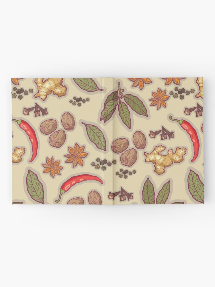 Alternate view of warming spices Hardcover Journal