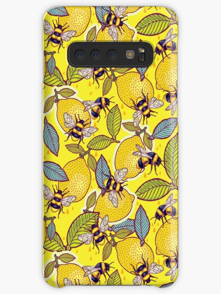 «Amarillo limón y jardín de abejas.» de smalldrawing