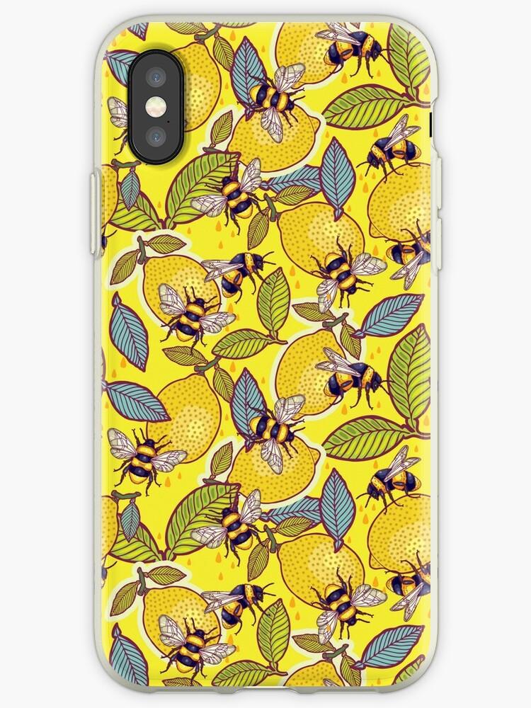 « Citron jaune et jardin d'abeilles. » par smalldrawing