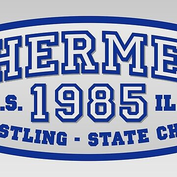 Shermer High Wrestling - State Champ [ BREAKFAST CLUB - 80's ] by vertigocreative