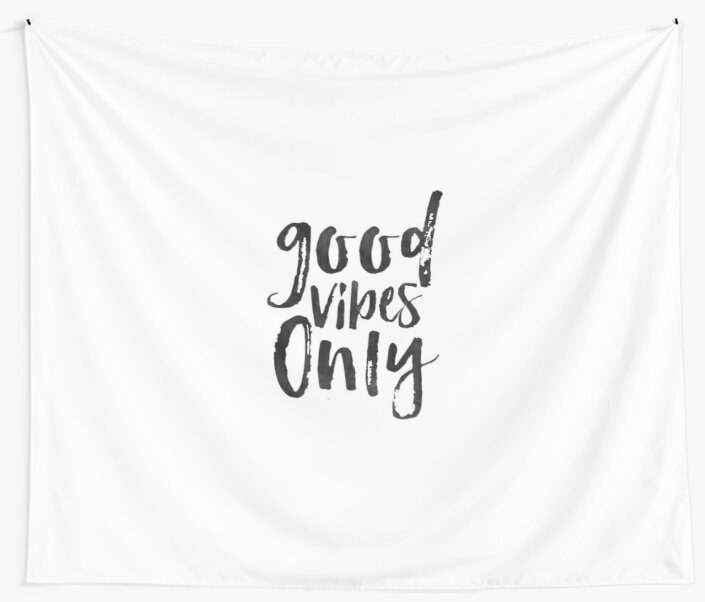 Good vibes only sign office wall artoffice quotequote printspositive