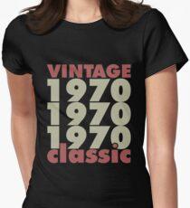 Geburtstag - Jahrgang 1970 Klassiker Tailliertes T-Shirt für Frauen