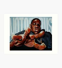 Notorious Art Print