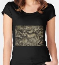 Wild Horse Cavern Women's Fitted Scoop T-Shirt