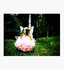 angel always at play Photographic Print