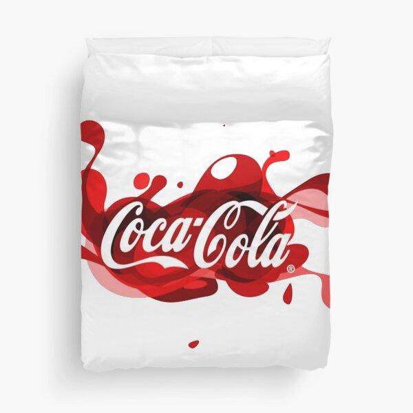 Coca-Cola Splash Logo Duvet Cover