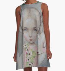 Spirit of the Forest von Raul Guerra A-Linien Kleid
