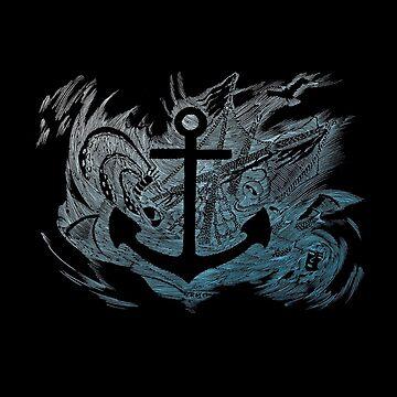 Rough Sea Anchor by Delta12Designs