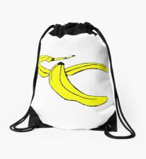 Banana Peel Drawstring Bag