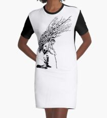 Led Zeppelin IV Graphic T-Shirt Dress