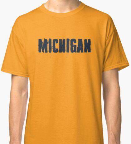 Michigan Trash Letters Classic T-Shirt