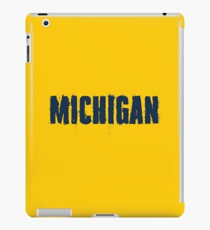 Michigan Trash Letters iPad Case/Skin