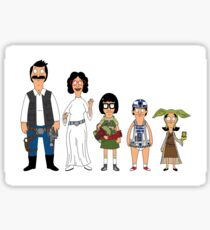 Space Family Mashup Sticker