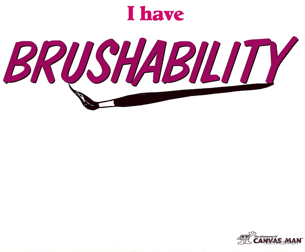 BRUSHABILITY by CanvasMan