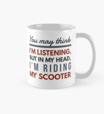 In my head; scooter  Mug