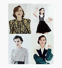 Millie Bobby Brown Collage Photographic Print