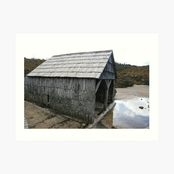 The Boat Shed Art Print