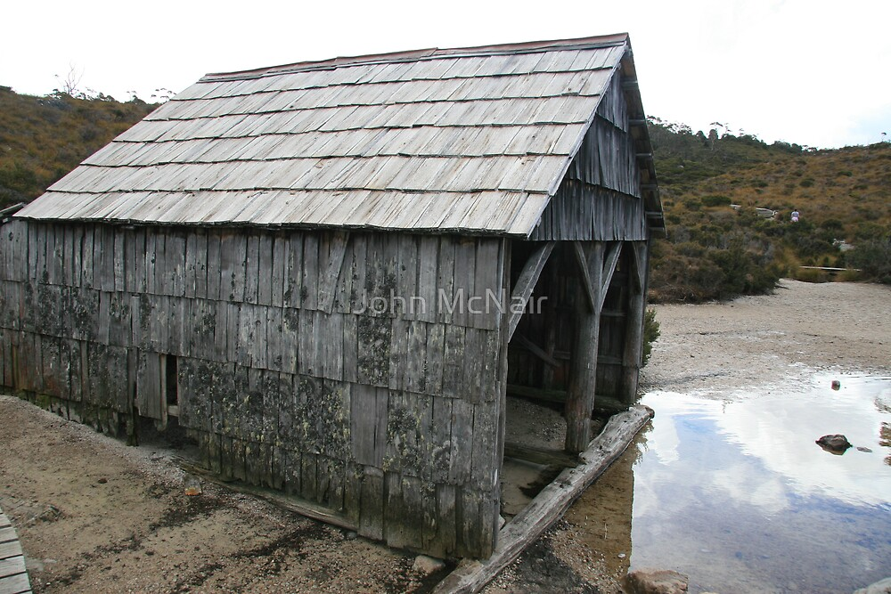 The Boat Shed by John McNair