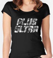 Plus Ultra - Boku no Hero Women's Fitted Scoop T-Shirt
