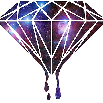 Diamond Universe-Gift-hipster-galaxy-trend-cool by Cheesybee