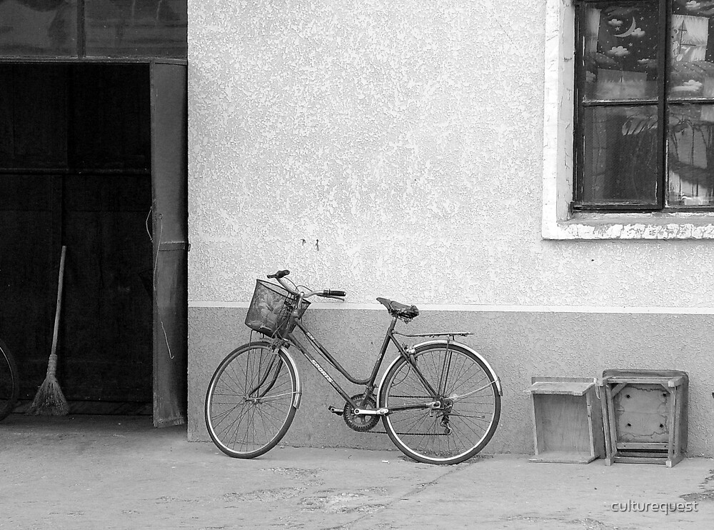Beijing Bicycle Awaits by culturequest