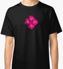 Crazy Bright Cerise Pink Flowers Classic T-Shirt