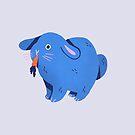 Disenchanted Bunny by Susann Hoffmann