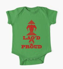 LAO'D & PROUD One Piece - Short Sleeve