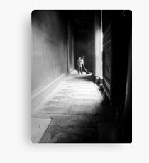 Sweeping the Holy Ground Canvas Print
