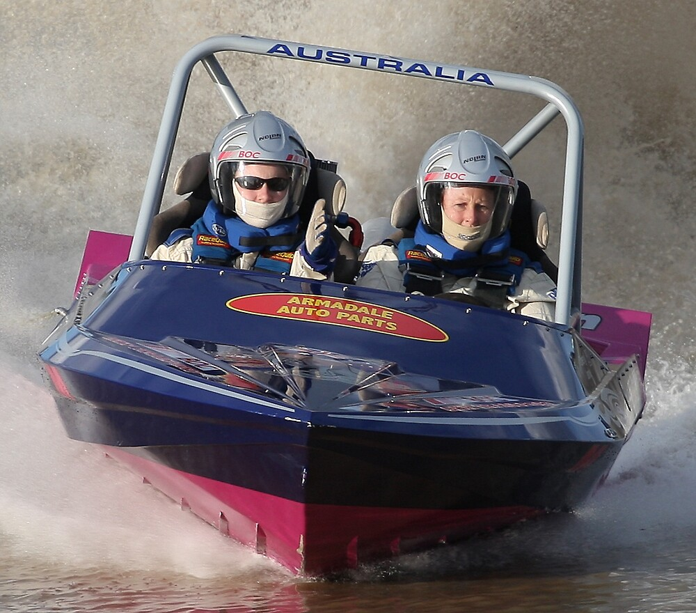 Jet Boat Racer by Peter Macphail