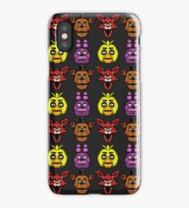 Five Nights at Freddy's 1 - Pixel art - The Classic 4 iPhone Case