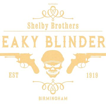 Peaky Blinders  - Shelby Brothers by eyevoodoo