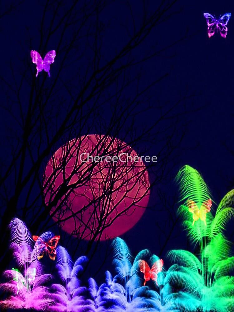Butterfly Moon by ChereeCheree