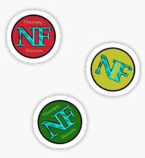 Red Yellow Green - NF HIPHOP Sticker
