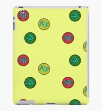 Red Yellow Green - NF HIPHOP iPad Case/Skin