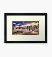 Port Willunga Seascape Framed Print