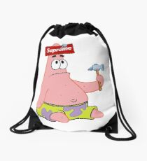Patrick the STAR Drawstring Bag